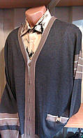 Кардиган мужской классический с карманами WOOLLENART