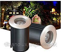 Грунтовый светильник  QL-11  LED 3W  220V размер 42мм х 75мм  2700K IP65, фото 3