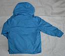 Куртка демисезонная для девочки с подстежкой голубая (QuadriFoglio, Польша), фото 6