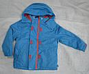 Куртка демисезонная для девочки с подстежкой голубая (QuadriFoglio, Польша), фото 3