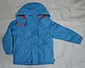 Куртка демисезонная для девочки с подстежкой голубая (QuadriFoglio, Польша)