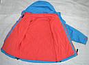 Куртка демисезонная для девочки с подстежкой голубая (QuadriFoglio, Польша), фото 5
