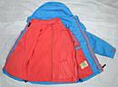 Куртка демисезонная для девочки с подстежкой голубая (QuadriFoglio, Польша), фото 4