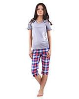 Женская пижама с короткими штанами (XS-2XL)