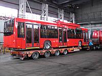 Перевозка вагонов, автобусов, трамваев