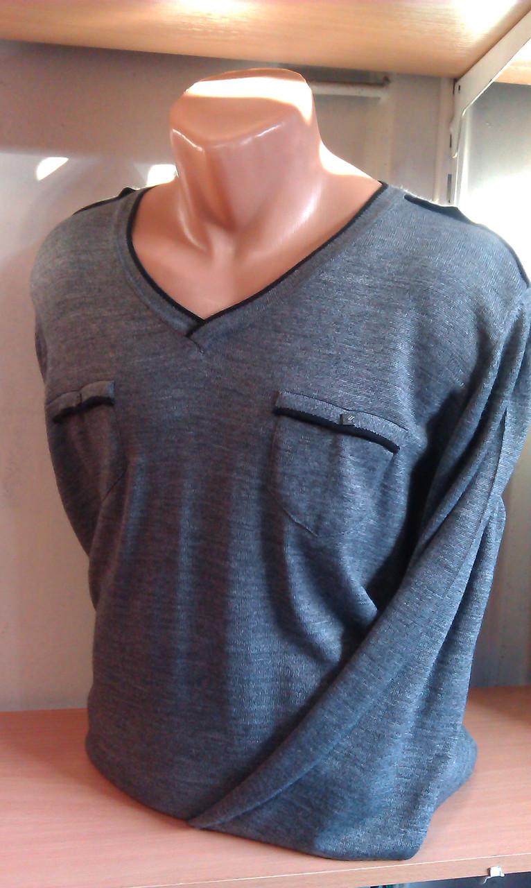 Пуловер чоловічий WOOLLENART з мисом
