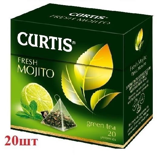 Чай Curtis зеленый ''Fresh Mojito'' 20шт