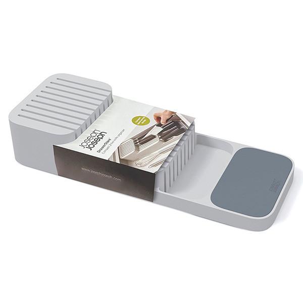 Компактный органайзер для ножей JOSEPH JOSEPH Counterstore двухуровневый Серый (85120)