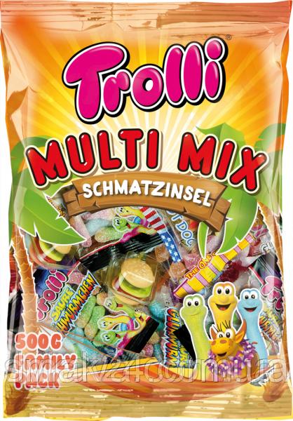 Желейные конфеты Trolli Multi Mix , 500 гр (27 пачек) Германия