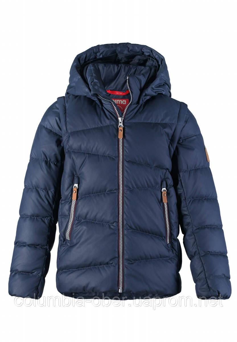 f6f5b1f82d4 Куртка-жилет пуховая для мальчиков Reima 531345-6980. Размеры 104-164.