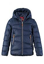 Куртка-жилет пуховая для мальчиков Reima 531345-6980. Размеры 134-152.