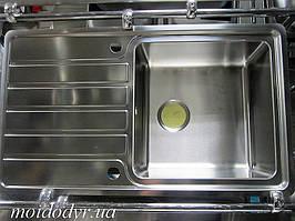 Мойка кухонная Elleci 860x500x213 из нержавеющей стали