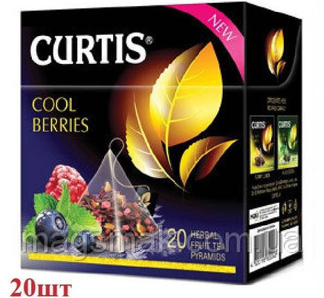 Чай Curtis черный ''Cool Berries'' 20шт, фото 2
