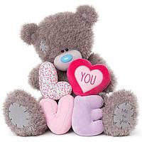 Мишка Teddy с буквами LOVE 71 см APE01001