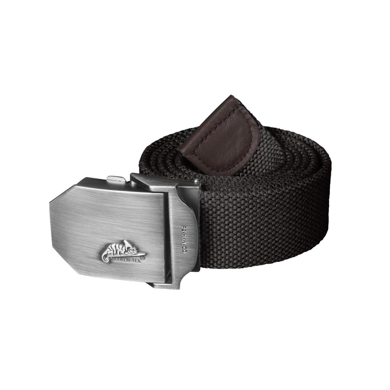 Ремень Helikon-Tex® Logo Belt Cotton - Черный