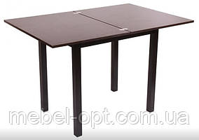 Обеденный стол СО-257 Нордик, раскладной обеденный стол, цвет венге