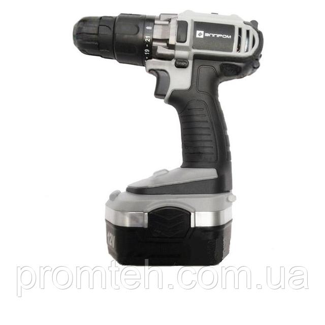 Аккумуляторный шуруповерт Элпром ЭДА-12-2 Ni-Cd