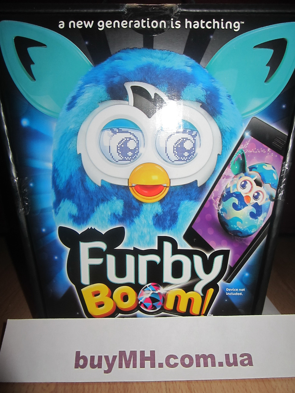 Ферби Бум голубые волны русский зык (Furby Boom  Waves), фото 1