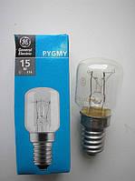 Лампа для холодильника  General Electric Pygmy 15P1/CL/E14 230V E14 15Вт (Венгрия)