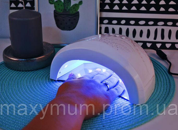 УФ-лампа 48 Вт для маникюра  двойные светодиоды 24шт