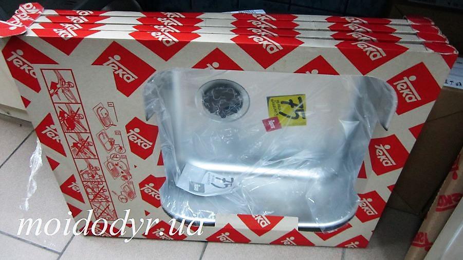 Мойка Teka Classico 1C MTX кухонная из нержавеющей стали  микродекор