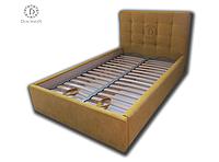 Кровать с мягким изголовьем, фото 1