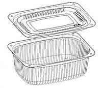 Пищевой одноразовый контейнер (крышка дно) 500 мл., GP-09