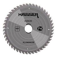 Циркулярный диск Haisser 210x30х48 Aluminium