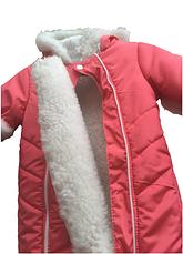 Зимовий дитячий комбінезон прінтованний, фото 3