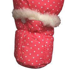 Зимний детский принтованный комбинезон, фото 3