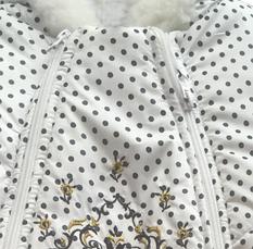 Зимовий дитячий комбінезон прінтованний, фото 2