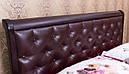 Ліжко 160*200 з підйомним механізмом з дерева в спальню Ассоль ромби  Марія Мікс Меблі, фото 2