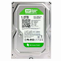 "Жесткий диск 1 ТБ Western Digital Caviar Green (WD10EZRX); 3.5""; 5400-7200 об/мин (IntelliPower); 64 МБ; SATA"