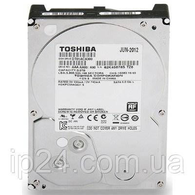 Жесткий диск 3 ТБ Toshiba (DT01ACA300)
