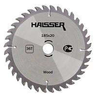 Циркулярный диск Haisser 185x20/16x36 Wood