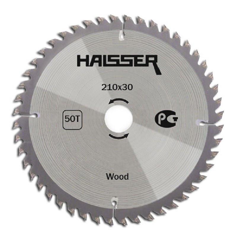 Циркулярный диск Haisser 210x30х50 Wood