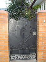 Кованые калитки, двери, фото 1