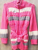 Вязаная детская кофта для девочки, фото 1