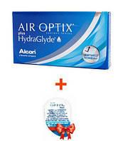 Контактные линзы Air Optix plus HydraGlyde (4 шт.)