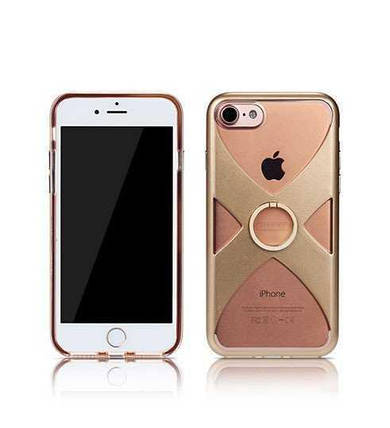 Чехол X-Series для iPhone 7 Plus золото Remax 751003, фото 2