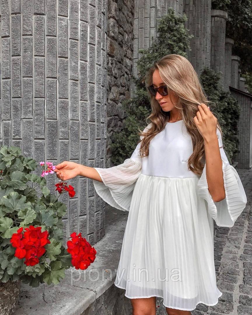 Женское Платье плиссе