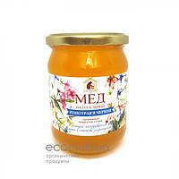 Мед июньское разнотравье Пасека Правильный мед 460мл