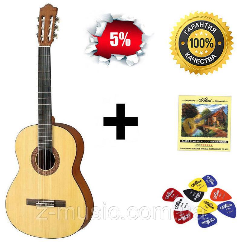Гітара класична Yamaha C40M, повнорозмірна матова