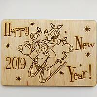 """Открытка """"Happy New Year 2019"""", фото 1"""