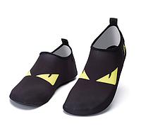 Детские тапочки  Black eyes для плавания, носки, чешки (аквашузы, коралки)