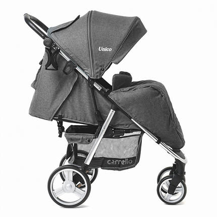 Детская коляска прогулочная CARRELLO Unico CRL-8507 + дождевик, фото 2