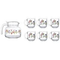 Набор питьевой Luminarc Rozana Trefle 7 пр N6225