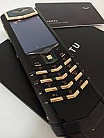 Мобильный телефон Vertu. VERTU SIGNATURE S DESIGN BLACK PVD RED GOLD