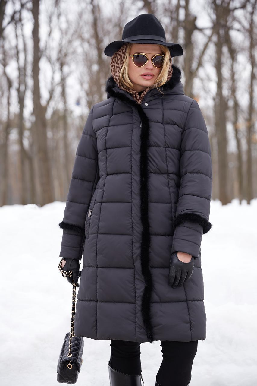 4d5b4e69686 Женское зимнее пальто Анеля
