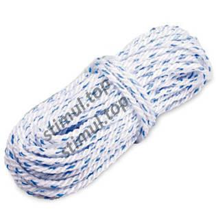 Канат полипропиленовый крученый 14 мм х 50 м (мотузка поліпропіленова оптом), фото 2